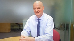 Colin Scales, the Bridgewater Chief Executive
