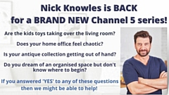 Nick Knowles and his wonderful team of designers will transform two rooms, redecorate, declutter and help the family fall back in love with their home