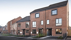 Some of the brand new ENGIE homes at Primrose Bank