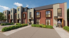 An image of how the Oldham Road properties will look