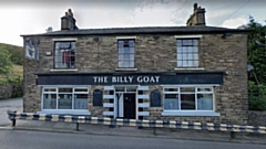 The Billy Goat pub in Mossley. Image courtesy of Google Maps