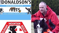 Donaldson's Vets and the Animal Rehabilitation Centre have been thanked by the Oldham Mountain Rescue Team